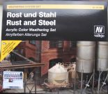 VAL70150 Rust and Steel Effects Weathering Set
